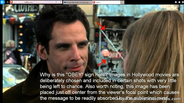 Illuminati Occult Symbolism Duplex Movie Ben Stiller Drew Barrymore